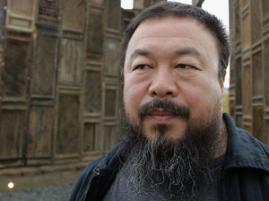 Chinese artist-activist Ai Weiwei was awarded the Chinese Contemporary Art Award for Lifetime Contribution in 2008. He was taken into custody by Chinese authorities nearly a month ago.
