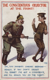 "The propaganda campaign waged by the British government from 1914-1918 ""was the largest and most sophisticated the world had yet seen,"" writes Hochschild."