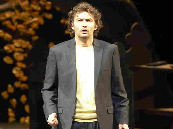 Jonas Kaufmann as the troubled poet, Werther.