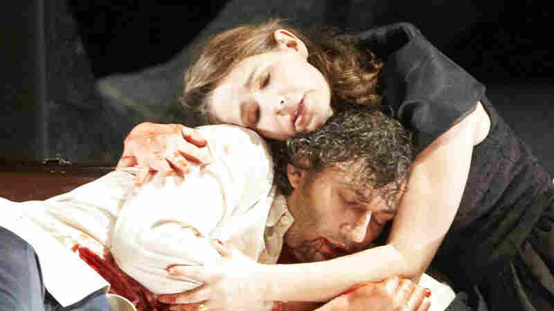 Sophie Koch and Jonas Kaufmann as the star-crossed lovers in Werther.