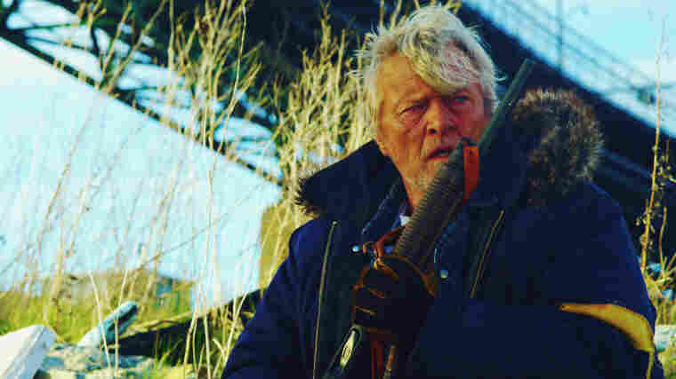 The hobo code: A nameless vagabond (Rutger Hauer) rides the rails into Hope Town, where he introduces criminals to the business end of his boom stick. Don't expect any themes or allegories — just a whole lot of bloody gore.