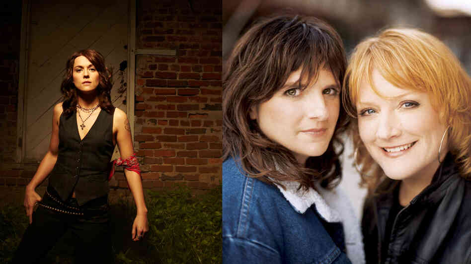 Brandi Carlile and the Indigo Girls recently performed on World Cafe.