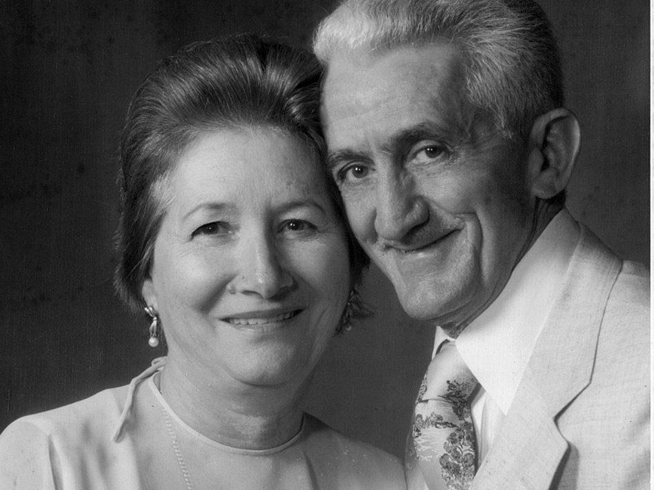 Aurora Navas (left) drowned outside her assisted living facility in Miami, despite several security measures. Her husband, Manuel, died of an aneurysm in 1983.