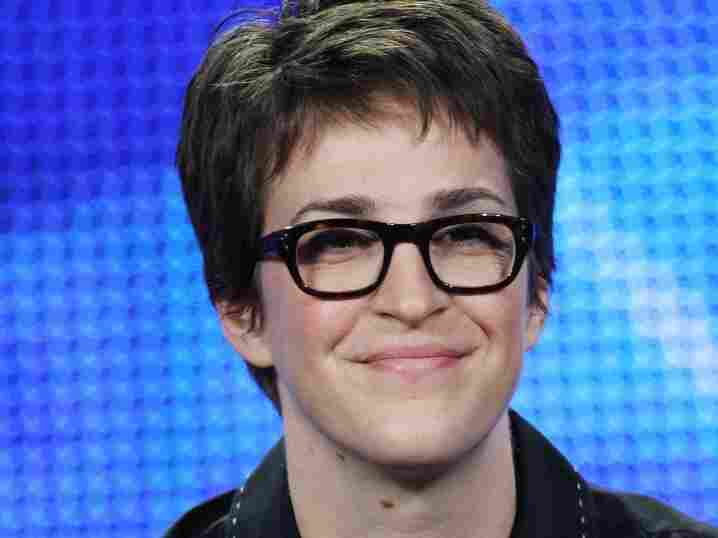 MSNBC Host Rachel Maddow attends the 2009 Winter Television Critics Association Press Tour in Los Angeles. Maddow said recently that gay people have a responsibility to come out.