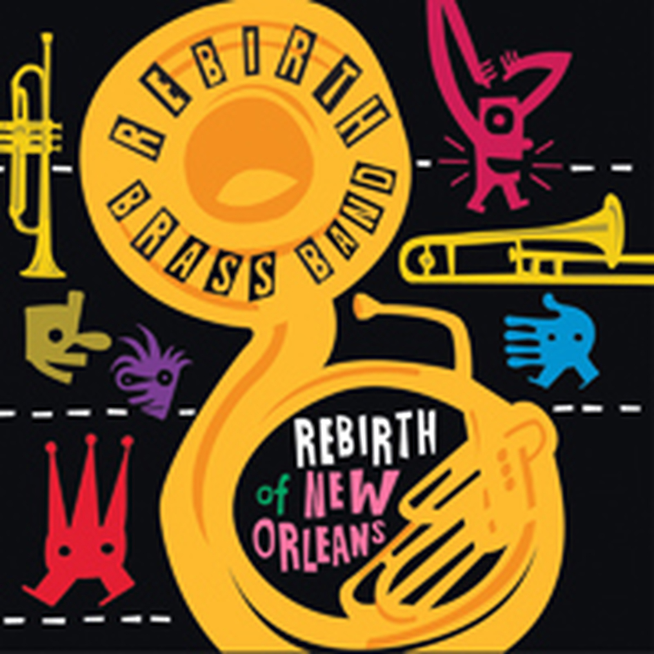 cover to Rebirth of New Orleans