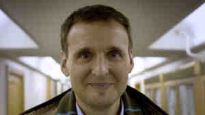 Writer-director Phil Rosenthal in his new documentary, Exporting Raymond.