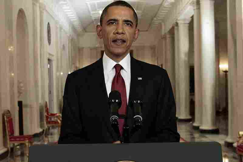 President Obama, speaking from the White House late Sunday night, said U.S. special forces killed bin Laden in a compound north of Islamabad.