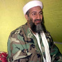 In this photo taken Dec. 24, 1998, Osama  bin Laden speaks to a selected group of reporters in the mountains of  Helmand province in southern Afghanistan.