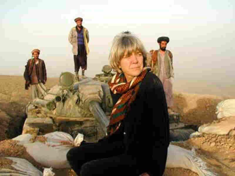 Anne Garrels reporting from Iraq in 2003.