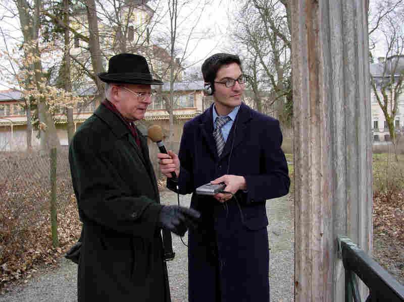 Guy Raz reporting from Germany in 2004.
