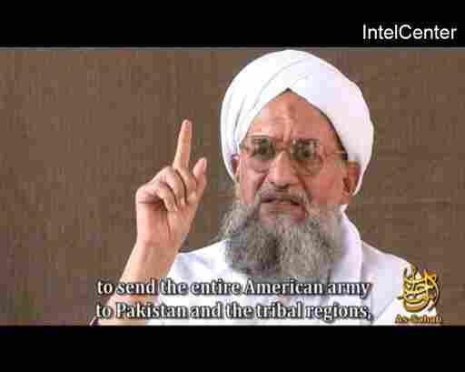 Terrorism experts say that Ayman al-Zawahiri, currently the No. 2 of al-Qaida, is well-positioned to take the helm of the terrorist group. This picture is from an online video released on Nov. 28, 2008.