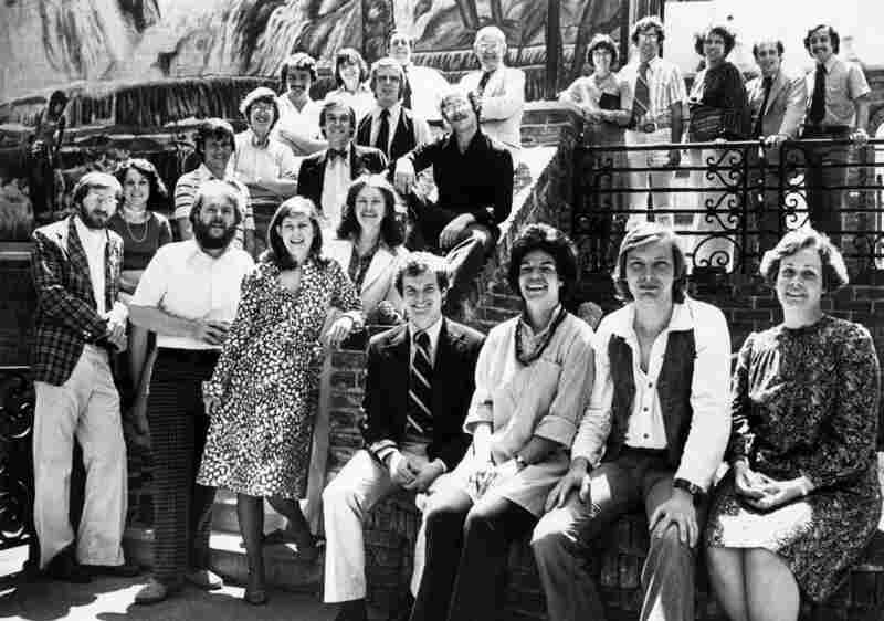 The ATC staff in 1974.