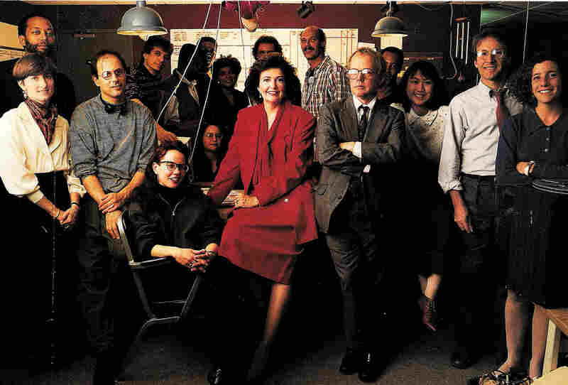 The ATC staff in 1990.