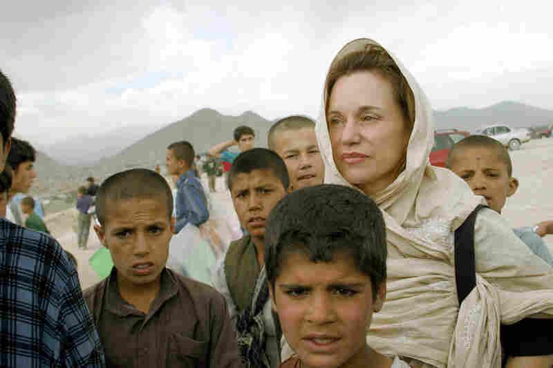 Renee Montagne in Afganistan.