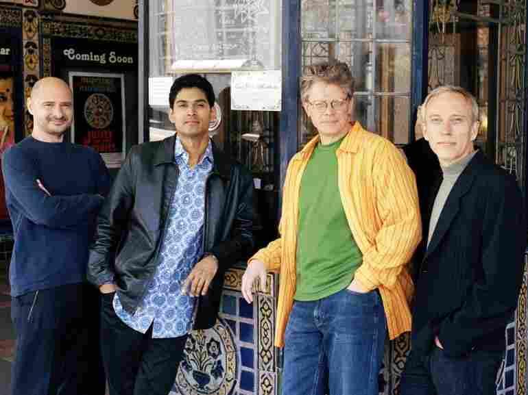 The Kronos Quartet.