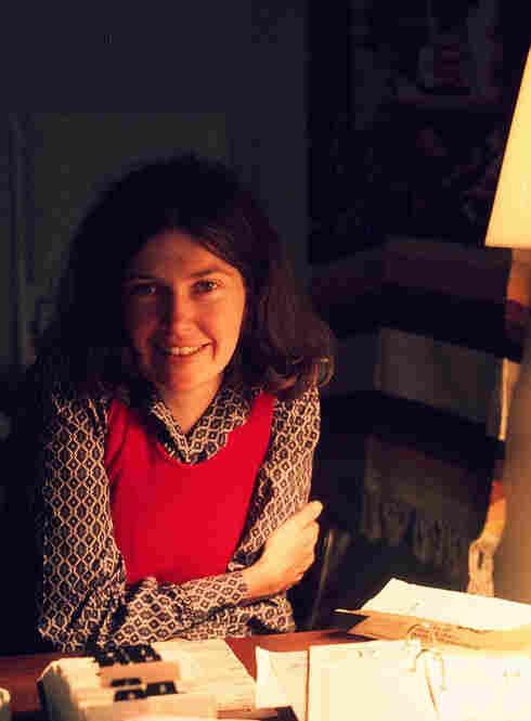 Linda Wertheimer in her office in the 1970s.