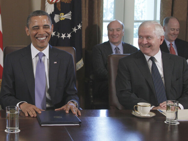 President Obama and his team basked in the success of their bin Laden mission, Tuesday, May 3, 2011.