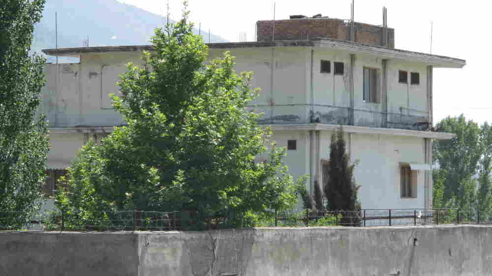 The bin Laden compound is surrounded by 20-foot walls and fortified by two feet of razor-wire fencing. The million-dollar hideout sits in Abbottabad, a garrison town that also houses the country's premier army training center.