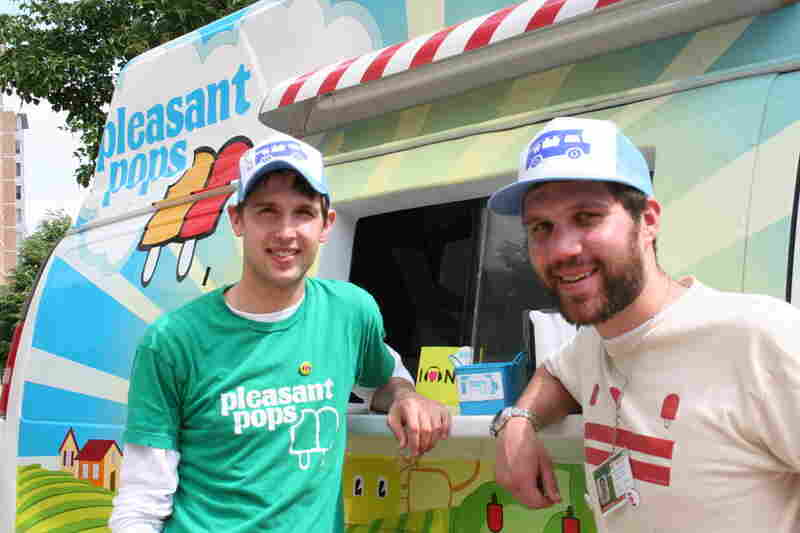 Thanks to the guys from Pleasant Pops--they were delicious!