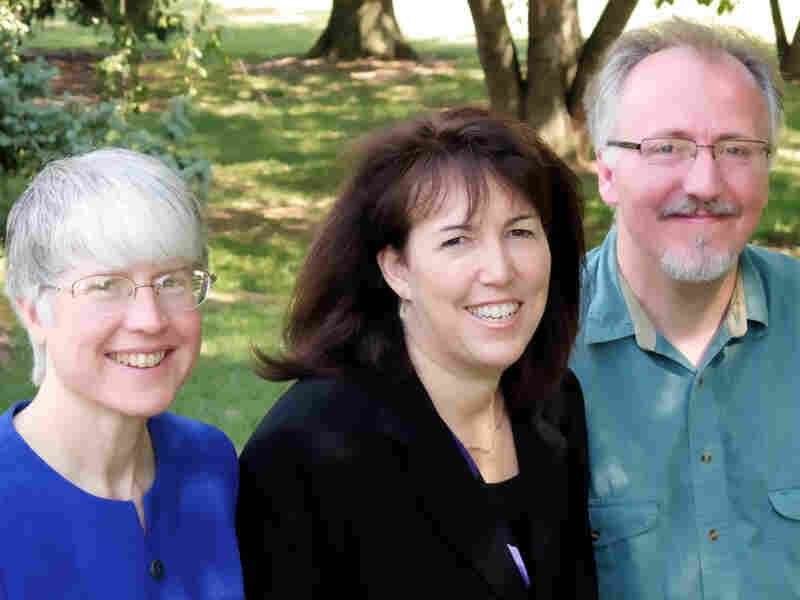 Drs. Annette Hanson (left), Dinah Miller and Steven Roy Daviss are the authors of Shrink Rap and the co-hosts of a psychology podcast.