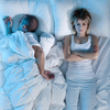 Studies have found that women report insomnia about 50 percent more often than men do. Their faster clocks may have something to do with it.