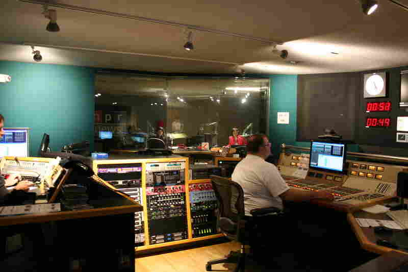 Studio 2A control room, May 3, 2011.
