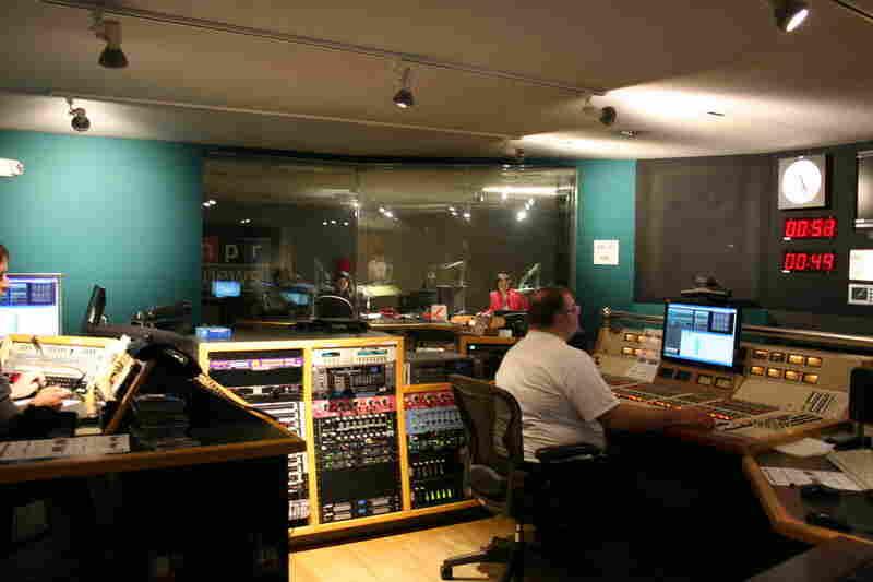 Studio 2A control room, May 3, 2011.