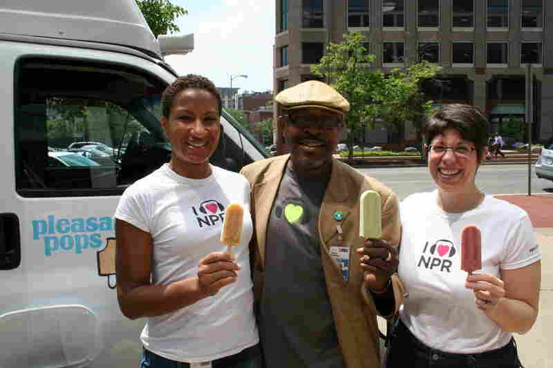 I Heart NPR and I Heart Pleasant Pops.
