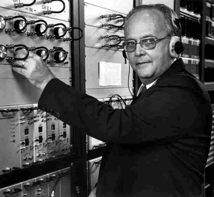 NPR senior engineer Wayne Hetrich.