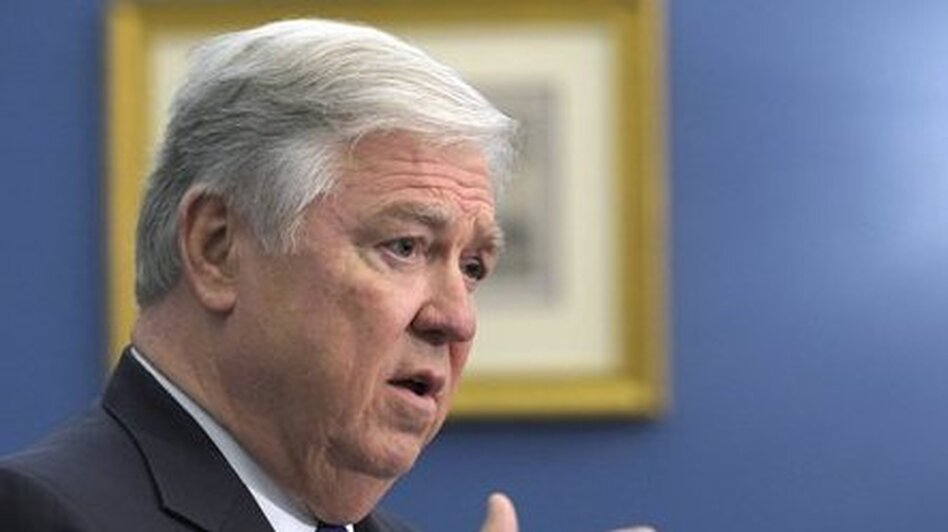 Mississippi Gov. Haley Barbour, seen here in April, is among governors who say they would be willing to accept caps on the growth of Medicaid funding in exchange for more control.