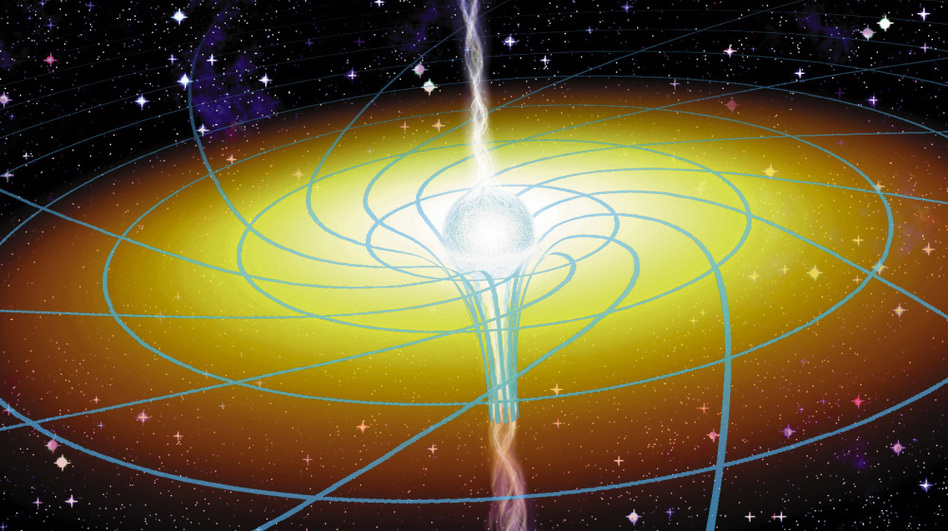 Nasa mission confirms two of einstein 39 s theories wbur news for Space time fabric black hole