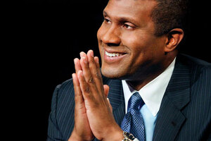 Tavis Smiley hosts Tavis Smiley on PBS, The Tavis Smiley Show from PRI and, along with Cornel West, co-hosts Smiley & West, also distributed by PRI. 2011 marks his 20th year in broadcasting.