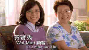 Wal-Mart's ad campaign in Mandarin emphasizes family as an important theme. In this moment from one of the ads, mother and daughter talk about the value Wal-Mart adds to their household.