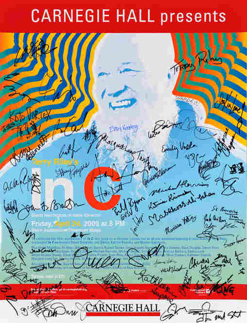 2009: An all-star team comprised of dozens of the 21st century's most exciting new music performers gathered for one night to perform Terry Riley's groundbreaking In C in honor of the piece's 45th anniversary.