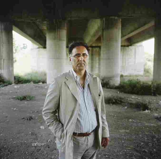Genarro Esposito, an environmental activist, doctor, and member of a nonprofit organization called Doctors for the Environment, stands under a bridge where toxic waste has been buried. Esposito, who lives in Saviano, uncovers and documents waste sites and looks into health issues that result from contamination.