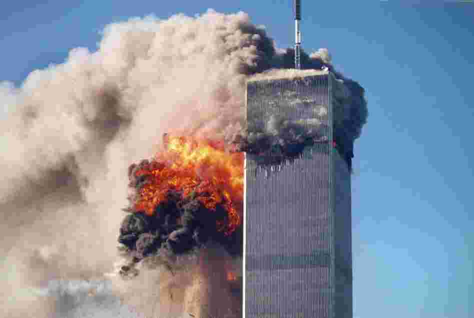 Terrorists dispatched by Osama bin Laden attacked the World Trade Center on Sept. 11, 2001, killing 2,819 people.