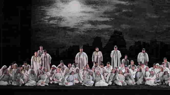 Verdi's 'Nabucco' performed at the Teatro dell'Opera di Roma.