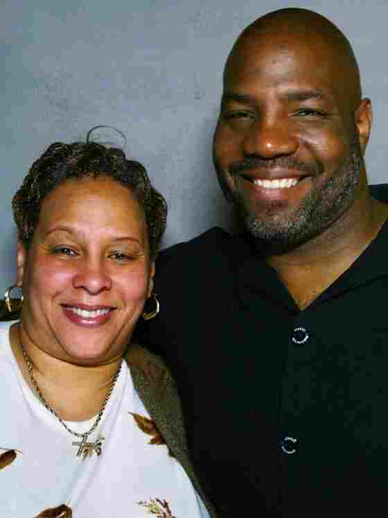 Valerie Foster with her brother, William Anthony Cobb.