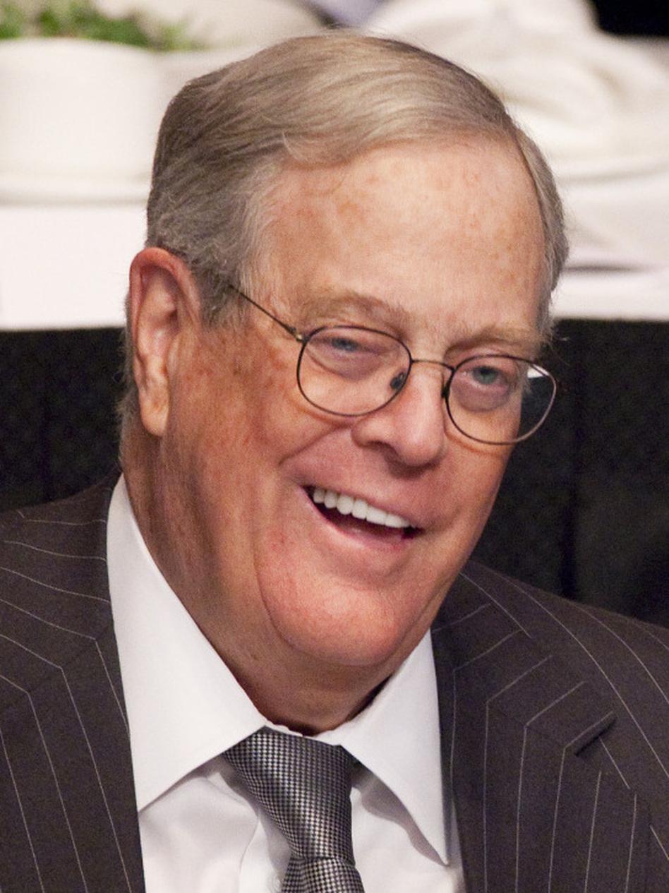 David Koch, executive vice president of Koch Industries, April 11, 2011. (Mark Lennihan/AP)