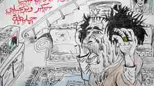 Rebel Art: Libyan Youth Find Outlet In Sketches, Song