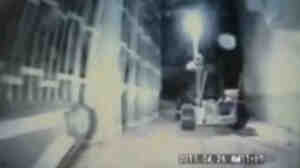 April 29: An image from video taken by Tokyo Electric Power Co. as robots explored the nuclear reactor building of Unit 1 at the Fukushima Dai-Ichi plant.