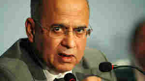 Pakistani Foreign Secretary Salman Bashir briefs the media about the killing of Osama bin Laden at the Foreign Ministry in Islamabad on May 5.  Bashir said that the accusations that Pakistan's intelligence agency colludes with al-Qaida are false and cannot be substantiated.