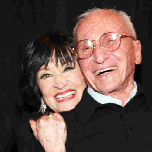 Arthur Laurents with actress Chita Rivera.