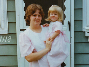 Amy Schriefer with her mom, Kathy Schriefer.
