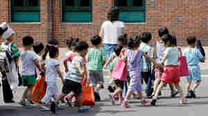 In a town in South Korea, one out of every 38 children tested had autism.  Two thirds of these were undiagnosed and untreated, and seemed to be doing okay in school.