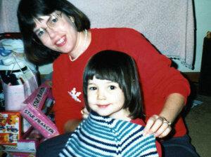Beca Grimm with her mom, Luada Grimm.