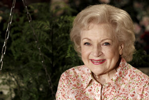 """One thing they don't tell you about growing old,"" Betty White writes, ""You don't  feel old, you just feel like yourself. And it's true. I don't feel 89 years old. I simply am 89 years old."""