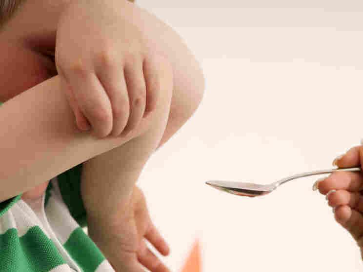 child refuses medicine