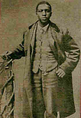 Oliver Lewis rode Aristides to win the first Kentucky Derby in 1875.