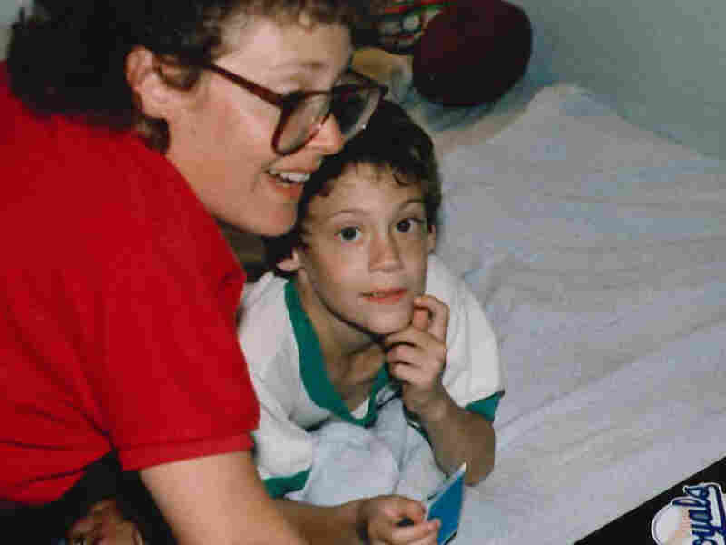 Mike Katzif with his mom, Stephanie Katzif.